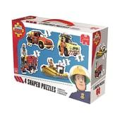 Jumbo Konturenpuzzle 8/10/12/14 Teile - Feuerwehrmann Sam