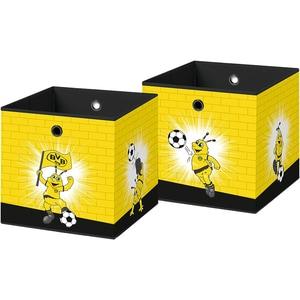 Borussia Dortmund Faltbox Emma 32x32cm