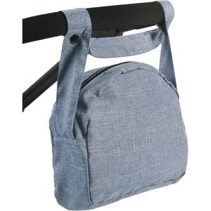 Chic 2000 Wickeltasche für Puppen Jeans blau
