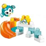 Mattel Mega Bloks Guck-Guck Pinguin-Rutsche Südpol Spielset 14 Teile