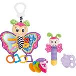 Playgro Spiel- und Beißring-Geschenkset Schmetterling 4tlg.