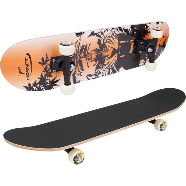 Hornet by Hudora Skateboard ABEC 1 Tiger
