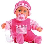 BAYER Babypuppe First words baby pink 38 cm