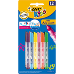 BIC Kids Mini Kid Couleur Filzstifte 12 Farben