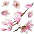 Fenstersticker Magnolia Blumen 11-tlg.