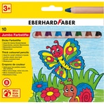 Eberhard Faber Mini Kids Club Jumbo-Buntstifte 10 Farben