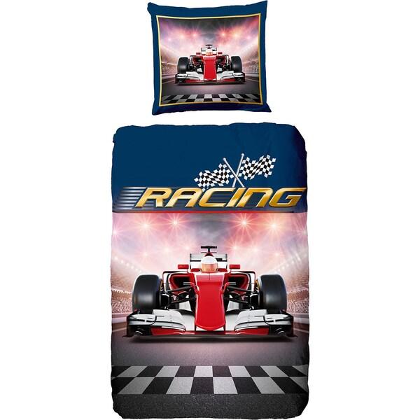 Kinderbettwäsche Racing Renforcé 135 x 200 cm