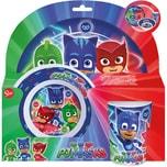 P:OS Kindergeschirr Melamin PJ Masks 3-tlg.