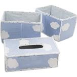 Roba Pflegeorganizer Kleine Wolke 3er- Set blau