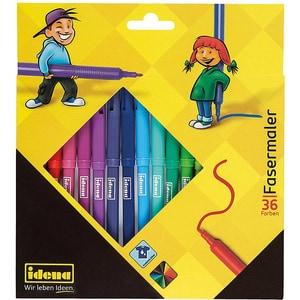Idena Filzstifte 36 Farben