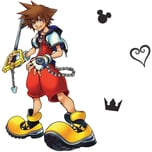 Roommates Wandsticker Disney Kingdom Hearts Sora