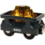 Brio Goldwaggon mit Licht