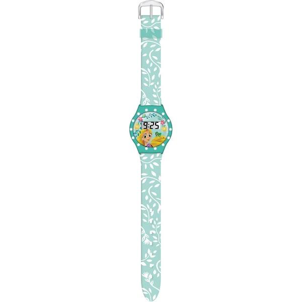Joy Toy Rapunzel LCD-Armbanduhr mit Strass