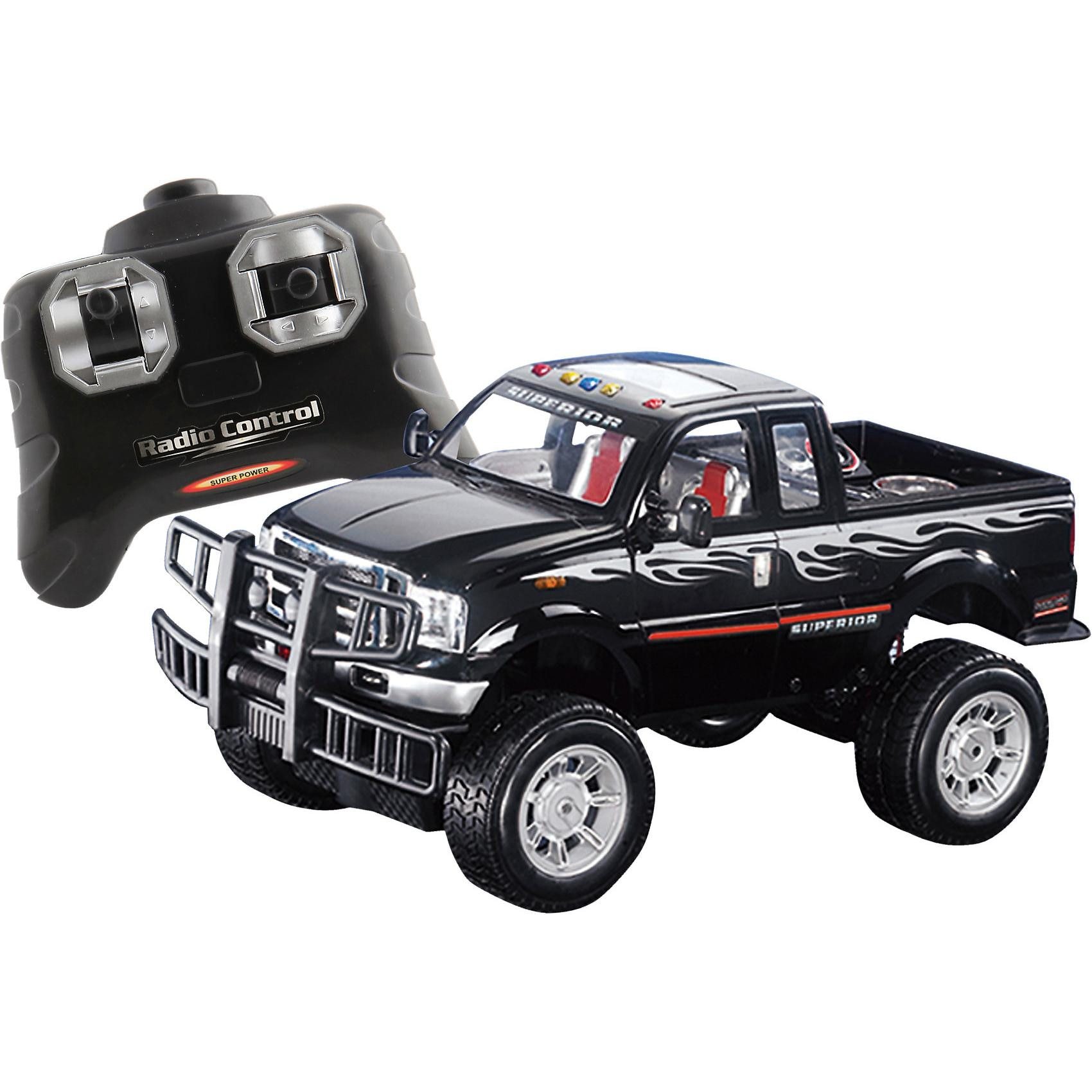 The Toy Company RC Racer Off Road Jeep 27 MHz