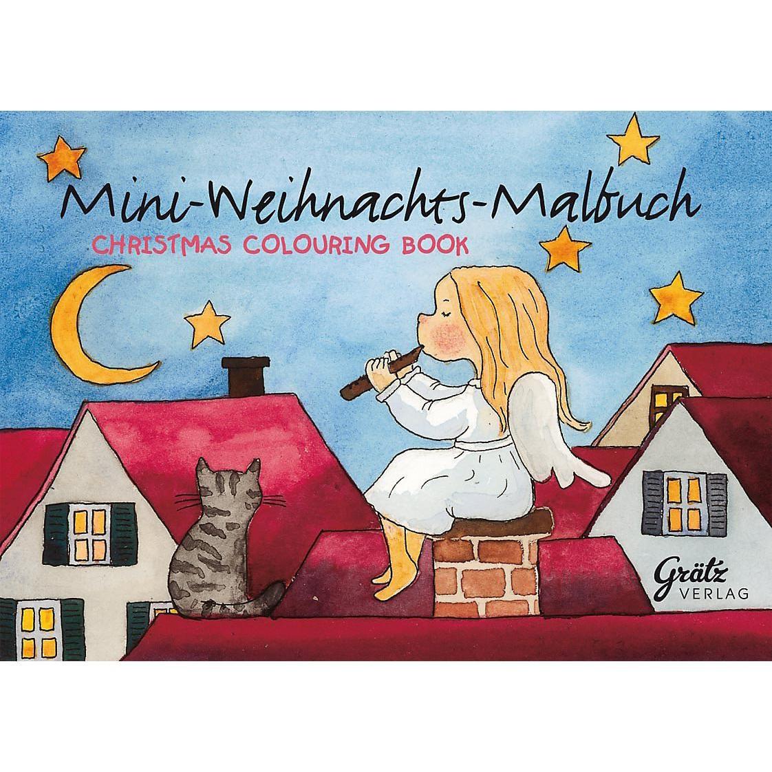 Grätz Verlag Mini-Malbuch Weihnachten 3 Stück