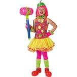 Funny Fashion Kostüm Clownkleid