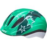 KED Helmsysteme Fahrradhelm Meggy II green stars