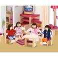 Eichhorn Puppenhaus Holzbiegepuppen Familie