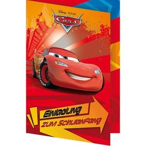 Nestler Einladungskarte Cars 5 Stück inkl. Umschlag