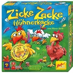 Zoch SPIEL DES JAHRES - Sonderpreis Kinderspiel 1998 Zicke Zacke Hühnerkacke