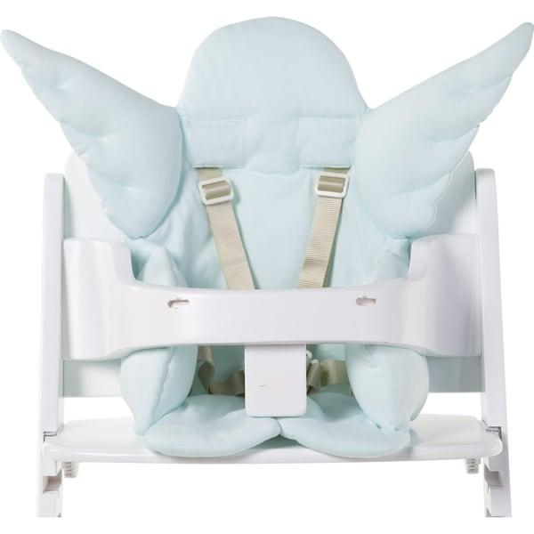 Childhome Sitzkissen Engel mintblau