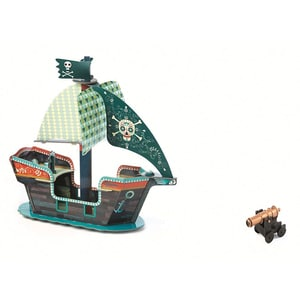 DJECO Pop to play - Piratenschiff 3D