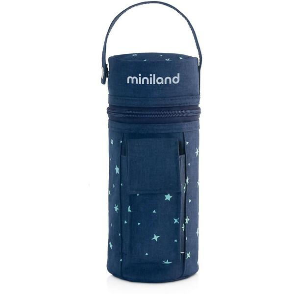 Miniland Flaschen-Isoliertasche Warmy Travel Blau