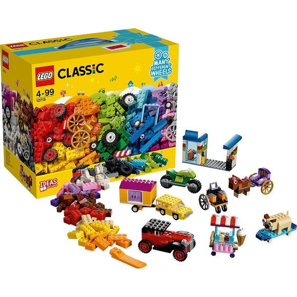 LEGO Classics 10715 Kreativ Bauset Fahrzeuge
