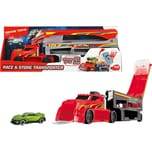 Dickie Toys Race and Store Transporter