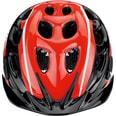 Alpina Fahrradhelm Rocky neon red black white 52-57