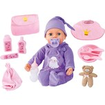Bayer Babypuppe Piccolina Real Tears 46 cm