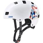 uvex Fahrradhelm kid 3 white skate