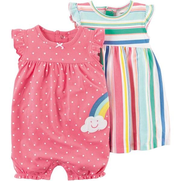 carter`s Baby Spieler Doppelpack für Mädchen