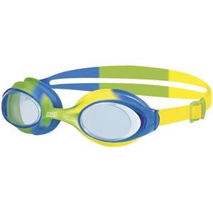 Zoggs Schwimmbrille Bondi Junior grün-blau-gelb