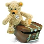 Steiff Kuscheltier Teddybär Charly im Koffer