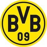 Borussia Dortmund Wandtattoo BVB Logo