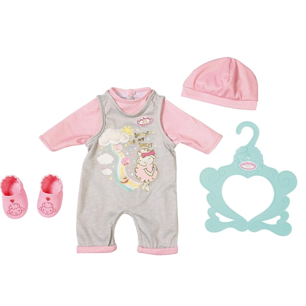 Zapf Creation Baby Annabell Süßes Baby Outfit 43 cm Puppenkleidung