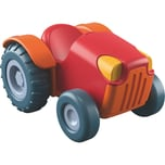 Haba 303130 Little Friends Bauernhof Traktor rot