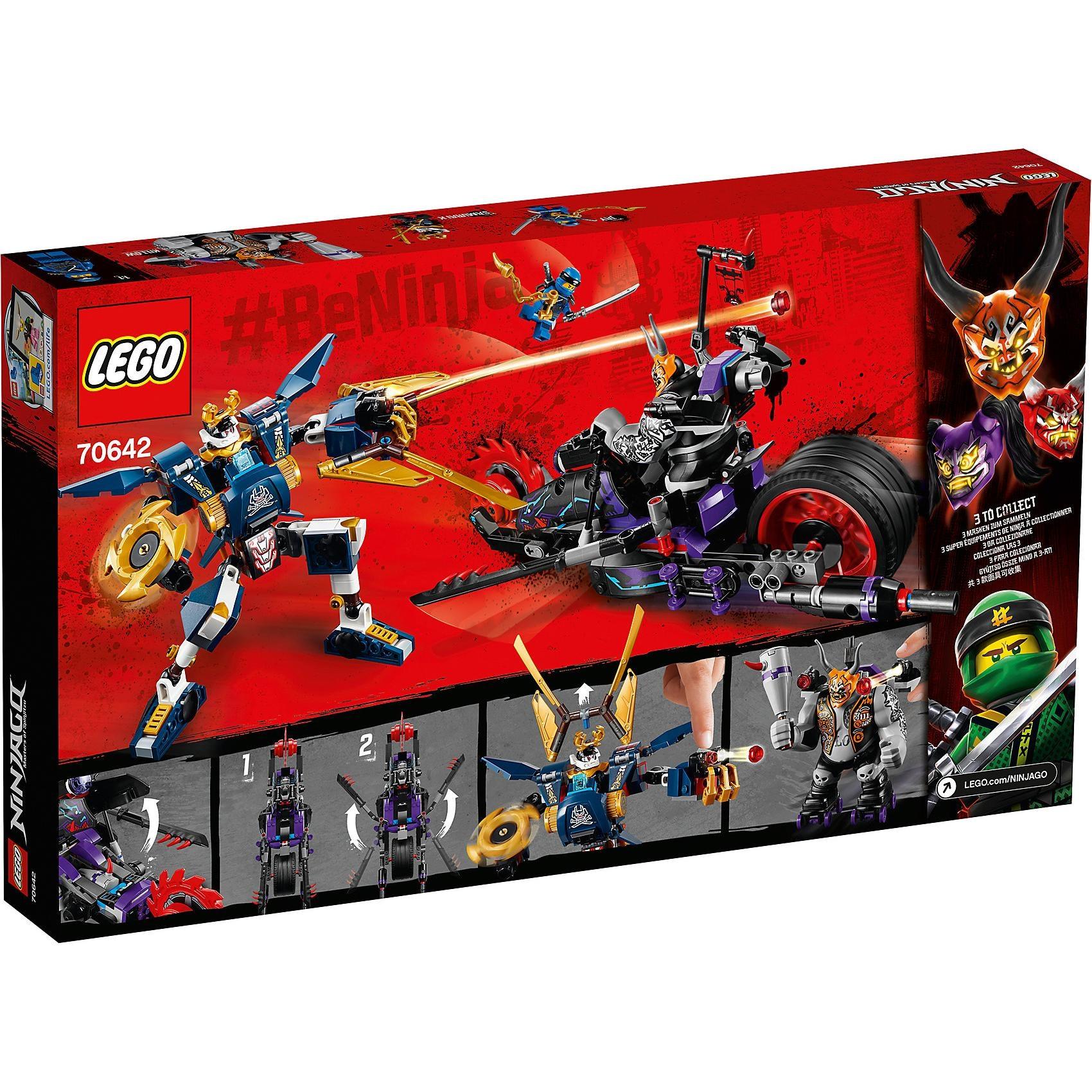 Lego Ninjago 70642 Killow gegen Samurai X