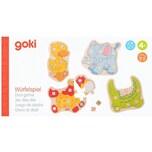 goki Würfelspiel Tiere Kinderspiel