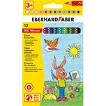 Eberhard Faber Mini Kids Jumbo-Buntstifte Big Winner 12 Farben