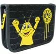Borussia Dortmund Federtasche BVB gefüllt schwarz
