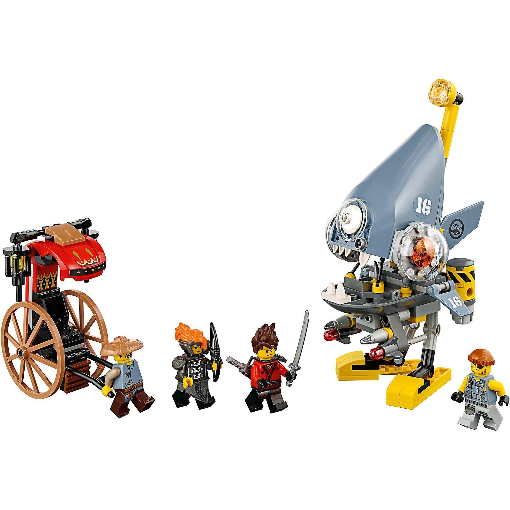 Lego Ninjago 70629 Piranha Angriff