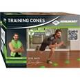 Schildkröt-Fitness Trainings Cones Hütchen 20 Stk.