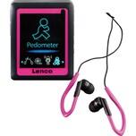 Lenco Podo152 MP4-Player mit Schrittzähler rosa