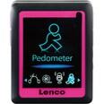 Lenco MP4-Player mit Schrittzähler Podo-152 pink