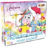 CRAZE DIY Adventskalender Unicorn 33 x 295 x 76cm