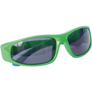 ALPINA Sonnenbrille Flexxy Junior neon green