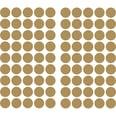 RoomMates Wandsticker goldfarbiges Konfetti 90-tlg.