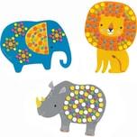 DJECO Mosaiken für Kleine: Dschungeltiere